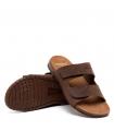 Sandalia semi abierta - Guante - Alicante - Chocolate - 0034801
