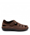 Sandalia cerrada - Guante - Capri - Chocolate - 0034323